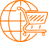 consumer goods icon orange