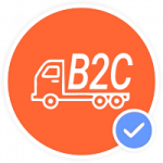 icono de empresa a consumidor b2c