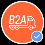 empresa a administración b2a
