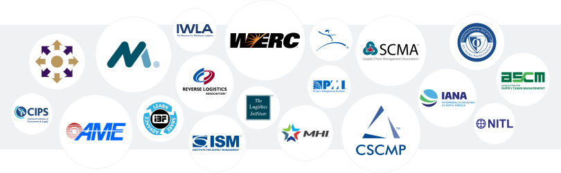 list of supply chain management and logistics organizations